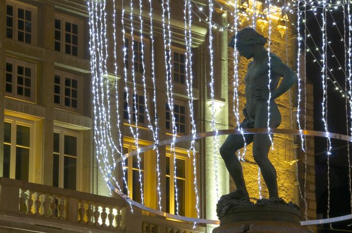 Illuminations de Noël 2012 à DIJON.