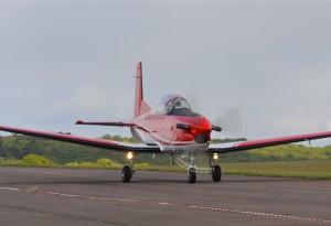 Avion d'origine Suisse, pour la formation des pilotes militaires, exporté dans une vingtaine de pays.