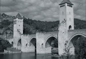 sur la Dordogne à Cahors.
