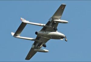 Premier avion à réaction utilisé en service opérationnel dans l'Armée de l'Air au début des années cinquante.