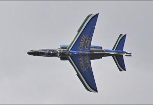 Avion de conception Franco-Allemande de formation et d'entraînement.
