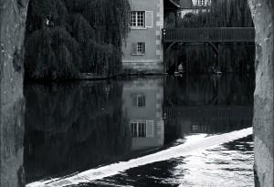Ancien moulin Provencher à Moret-sur-Loing.